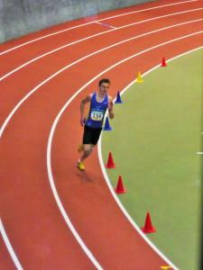 HLV-Hallenmeisterschaften U20/U16: Platz 9 über 800m mit 2:05,85 Min.: Bastian Trost (LG Brechen)